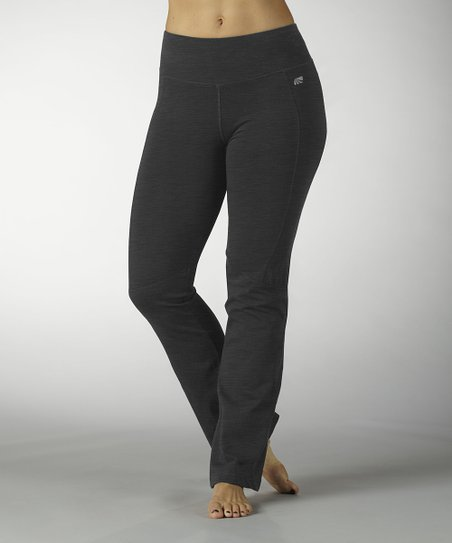 Heather Charcoal Ultimate Slimming Yoga Pants