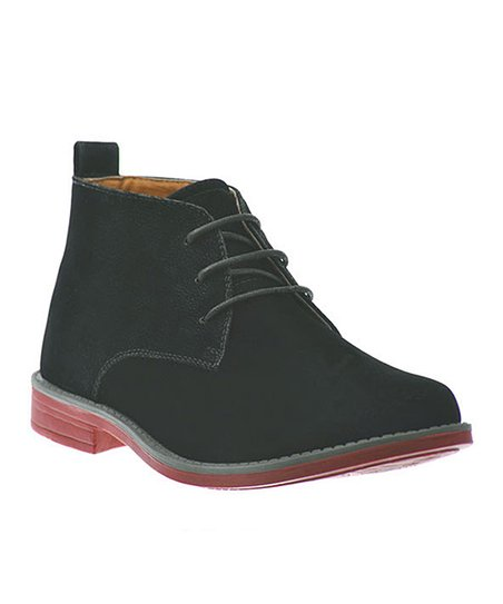 Black Chukka Shoe