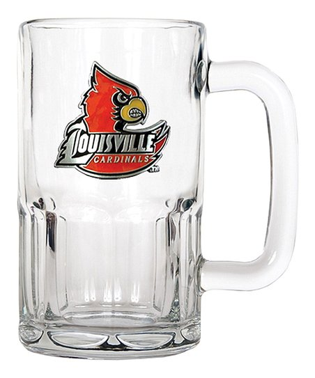 Louisville Cardinals 20-Oz. Glass Mug
