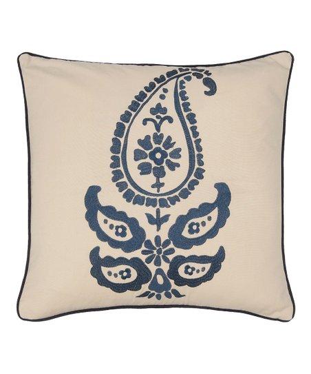 Paisley Jasmin Throw Pillow