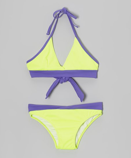 Yellow & Purple Bikini – Girls