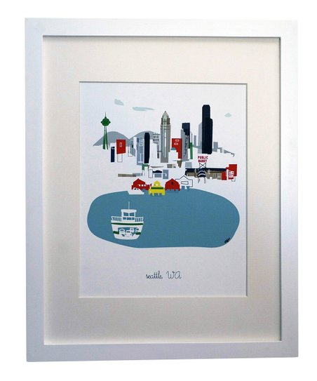 Seattle City Print