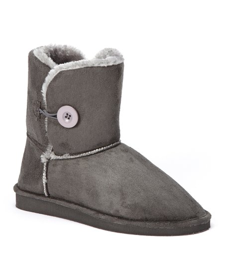 Gray Toggle Boot