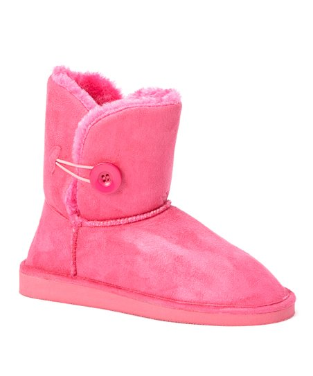 Fuchsia Toggle Boot