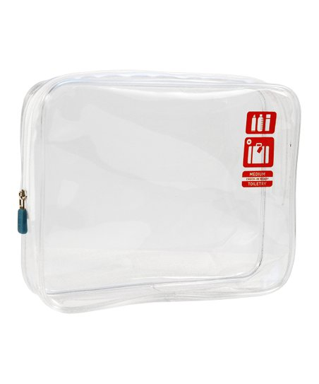 Clear Check-In Ready Toiletry Bag