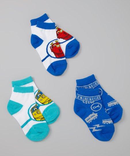 Chuggington Boys Shorty Socks Set