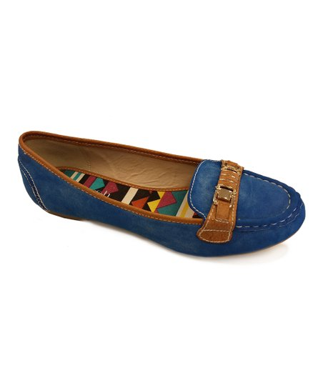 Royal Blue Nassa Flat