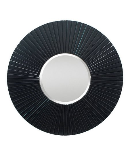 Black Circle Wall Mirror