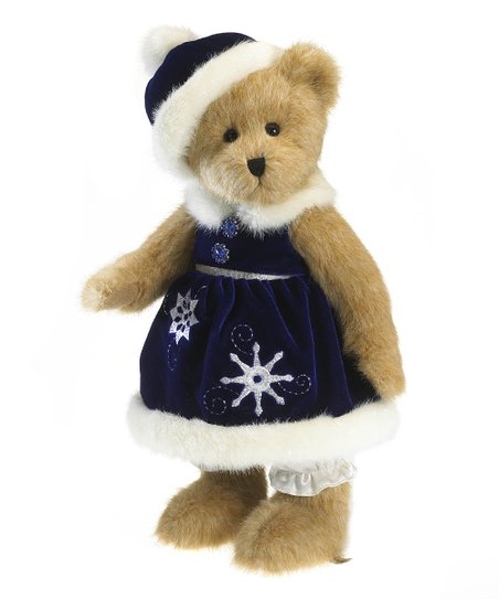 Crystal Snowflake Plush Bear