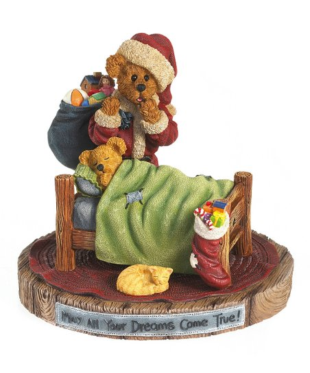 'Dreams Come True' Santa Bear Figurine