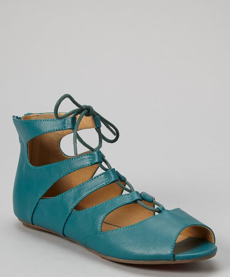 Teal Larry Gladiator Sandal