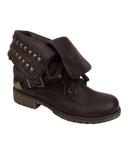 Brown Evelyn Boot