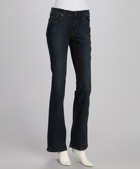 Dark Blue Paris Emily Bootcut Jeans