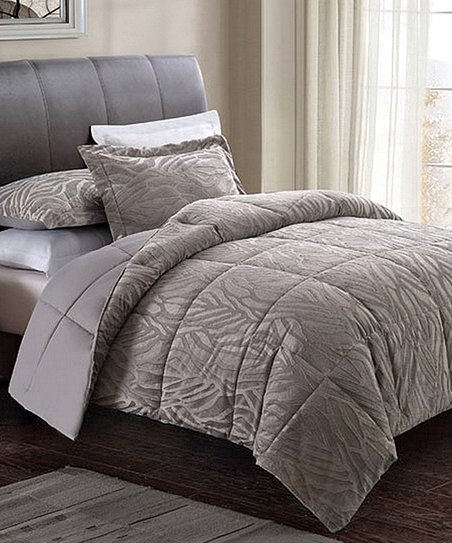 Modern Zebra Comforter Set