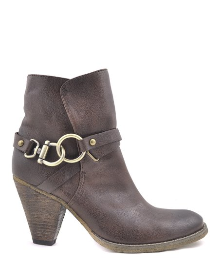 Brown Rido Booties