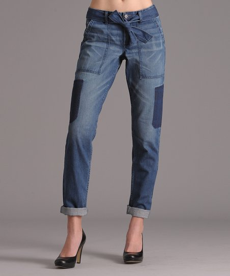 Mayfair New Cargo Pocket Hi-Waisted Jeans