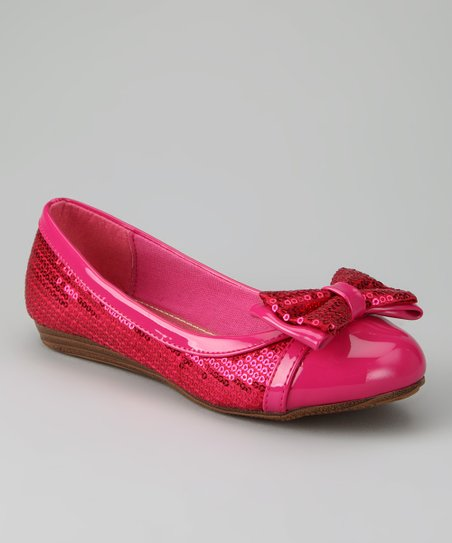 Fuchsia Cassidy Ballet Flat