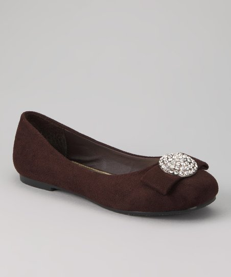 Brown Gaby Ballet Flat
