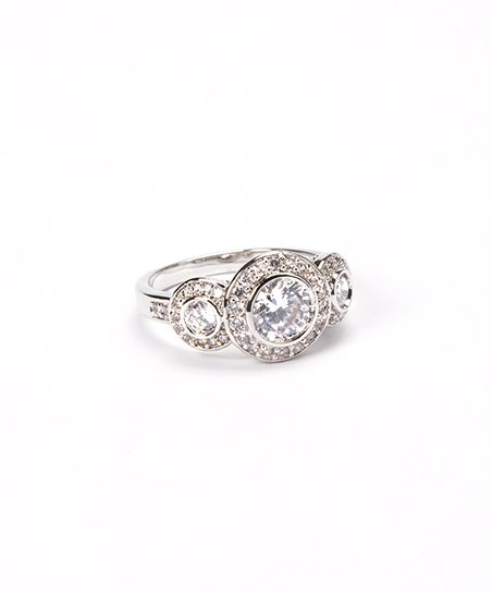 Sparkle Circle Trio Ring