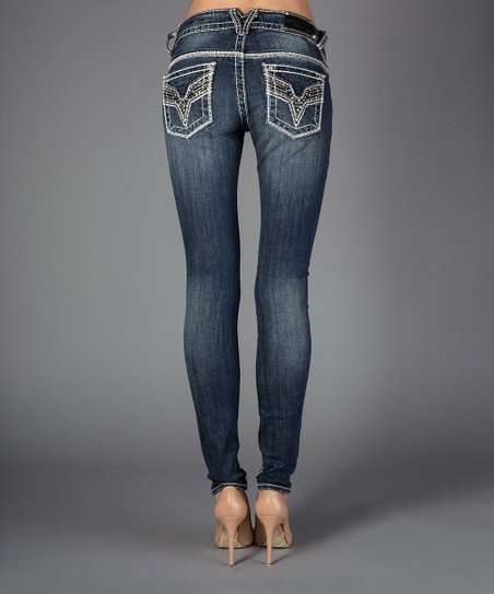 Medium Wash Jagger Skinny Jeans - Women