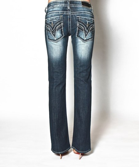 Dark Wash Dallas Bootcut Jeans - Women
