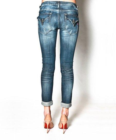 Medium Tint Tomboy New York Skinny Jeans - Women