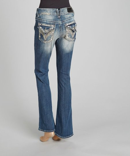 Medium Wash New York Bootcut Jeans - Women & Plus