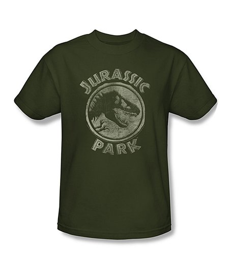 Forest Green 'Jurassic Park' Tee - Adult