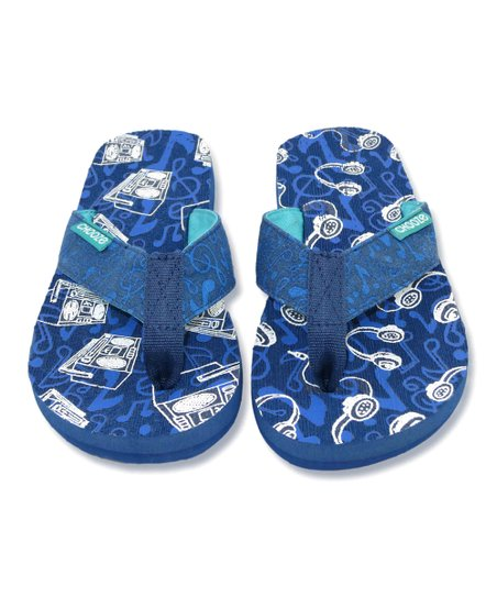 Blue Tune Chill Flip-Flop - Kids