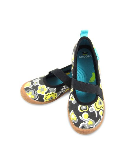 Yellow & Black 2Inspire Spin Strap Flat - Kids