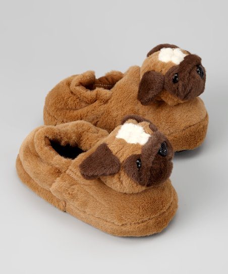 Brown Dog Slipper