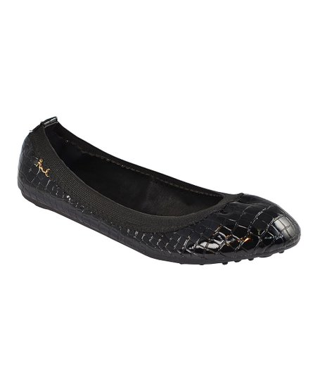 Black San Francisco Ballet Flat