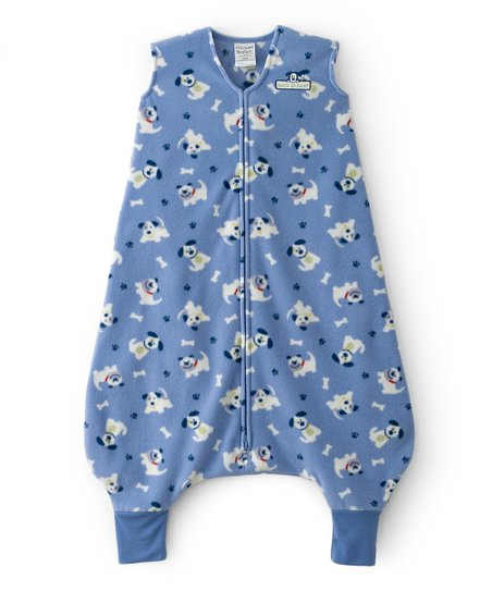 Blue Puppy Pal Early Walker SleepSack