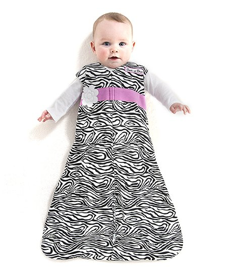 Zebra Flower SleepSack