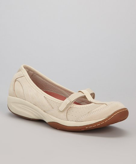 Light Taupe Suede Lena Mary Jane