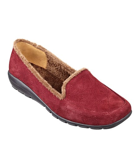 Red Suede Arria Loafer