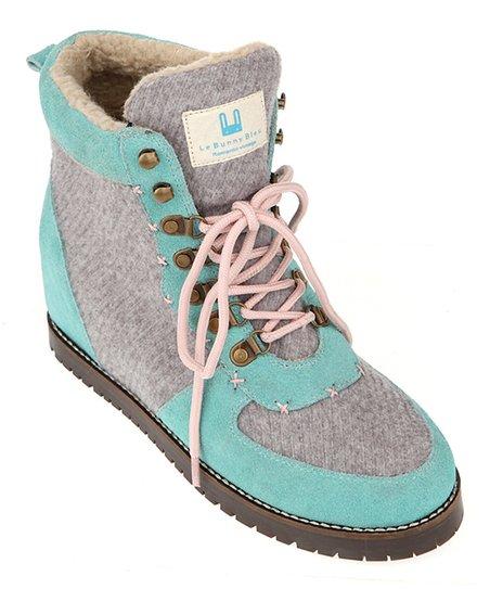 Gray Leandra Hi-Top Sneaker - Women