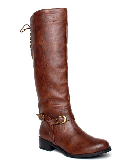 Brown Marygold Over-the-Knee Boot