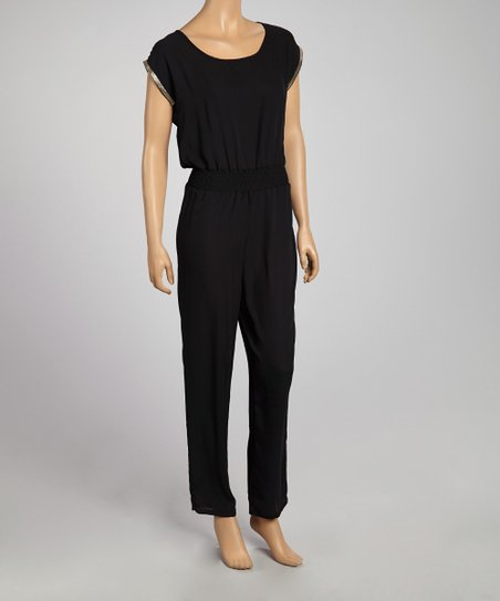 Black & Gold Jumpsuit