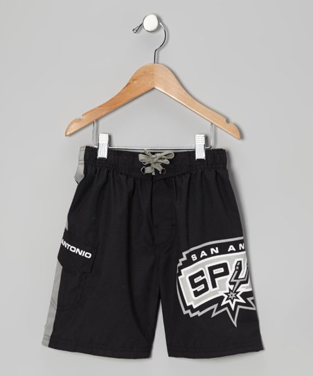 San Antonio Spurs Cargo Boardshorts - Boys