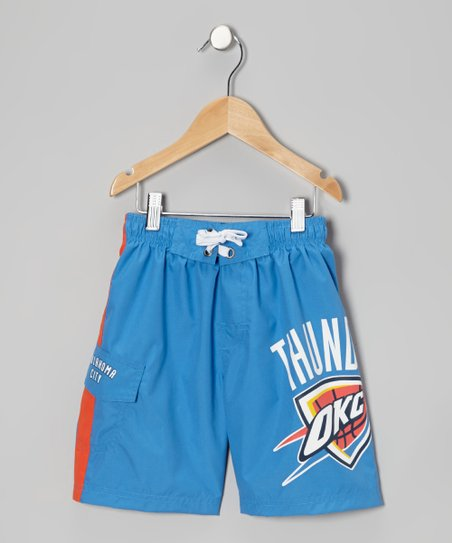 Blue 'Oklahoma City Thunder' Cargo Boardshorts - Boys