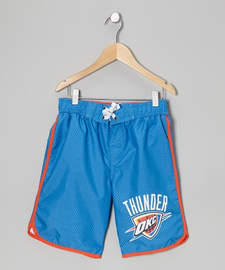 Blue Alternate Oklahoma City Thunder Boardshorts - Boys