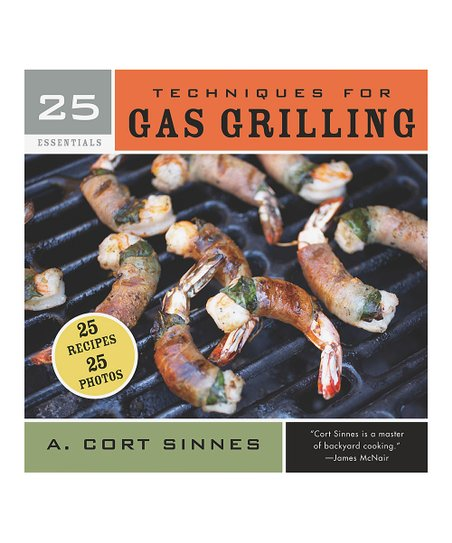 25 Essentials: Techniques for Gas Grilling Spiral-Bound Paperback