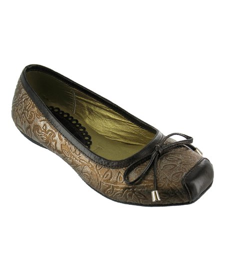 Bronze Margot Ballet Flat