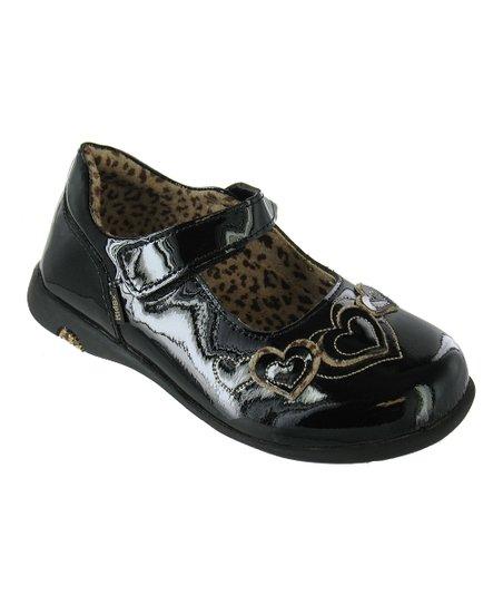 Black Patent & Leopard Simone Mary Jane
