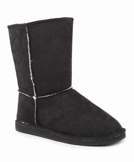 Black Rose Stitch Boot