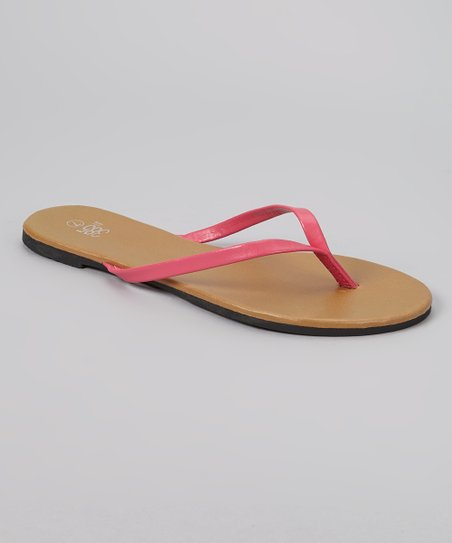 Fuchsia Flip-Flop