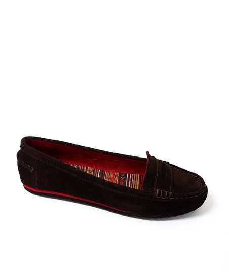 Brown Dooney Suede Loafer