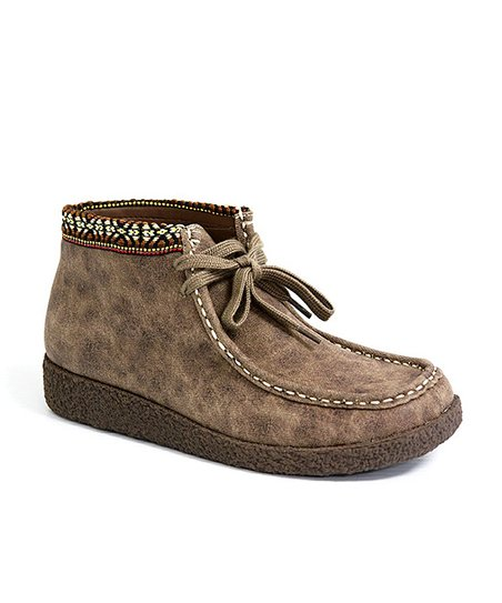 Stone Royce Leather Desert Boot