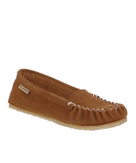 Hickory Hailey Suede Moccasin - Women